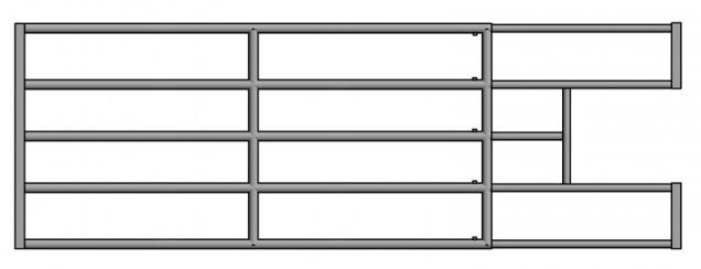 Elementy do paneli premium z wycinką na poidło