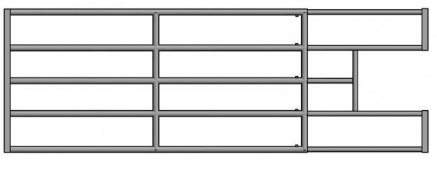 Elementy do paneli z wycinką na poidło